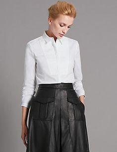 Supima® White Shirt