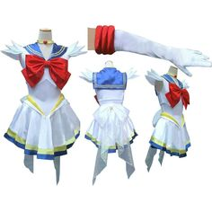 Kisstyle Fashion New Anime Pretty Soldier Super Sailor Moon Sailormoon White Serena Dress Cosplay Costume female halloween party Sailor Halloween Costumes, Christmas Costumes, Halloween Dress, Halloween Party, Cosplay Costumes For Men, Full Body Costumes, Cheap Cosplay, Costume Ideas, Sailor Moon Costume