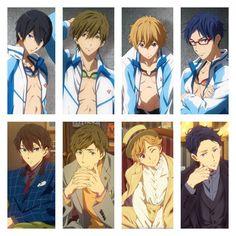 but nagisa's hat Anime Naruto, Manga Anime, Anime Guys, Otaku, Rin Matsuoka, Makoto Tachibana, Makoharu, Nagisa Free, Splash Free
