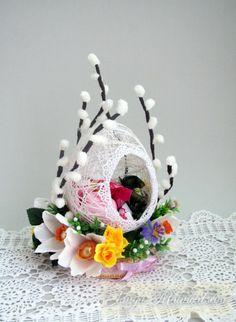 Gallery.ru / Фото #47 - Пасхальное. - boogi-woogi Jute Crafts, Egg Crafts, Easter Crafts, Diy And Crafts, Crafts For Kids, Arts And Crafts, Spring Crafts, Holiday Crafts, Diy Y Manualidades