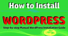 WORDPRESS is a content management system or it can also be called as web software which is not only used for managing your web content but also you can develop your own blog, website or even an app. WORDPRESS is absolutely free and one of...