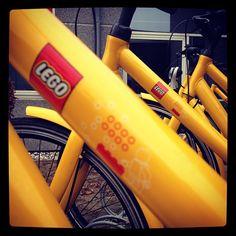LEGO bike ride anyone? source: instagram: @LEGO