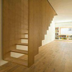 Escaliers inversés