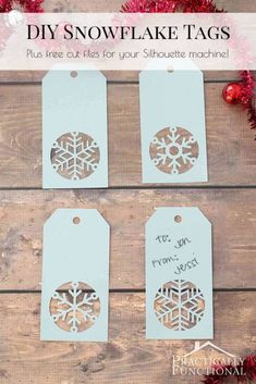 15 Free Christmas Cut Files for Silhouette and Cricut - Poofy Cheeks Xmas gifts – uncommon Christmas ideas Out of all of the issues that we have presently found undern Plotter Silhouette Portrait, Plotter Silhouette Cameo, Silhouette Machine, Free Silhouette Files, Silhouette Cameo Cards, Christmas Tag Templates, Cricut Christmas Cards, Cricut Projects Christmas, Handmade Gift Tags
