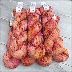 Speckle Dyed Pakokku Sock Yarn - 'On The Flip Side'
