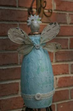 Funky Time Art: Recycled Plastic Bottle Angel
