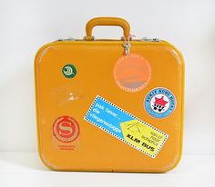 Vintage Kids Suitcase - every kid should have one of these!