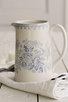 Burleigh Pottery | Blue Asiatic Pheasant Tillbringare | Matilde & Co | Handla online