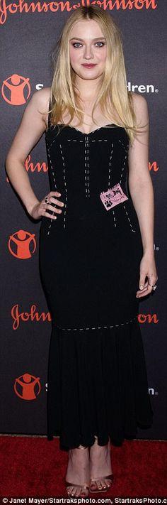 Swank: Stars including Olivia Wilde (left) and Dakota Fanning (right) hit the red carpet W...