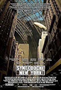 Synecdoche, New York. Written and Directed by Charlie Kaufman, Starring Philip Seymour Hoffman, Samantha Morton, Michelle Williams and Catherine Keener Michelle Williams, New York Poster, Great Films, Good Movies, Excellent Movies, Amazing Movies, Catherine Keener, New York, Minas Gerais