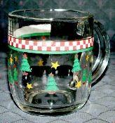 Debbie Mumm Magic Santa Glassware