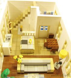 Modular LEGO store and appartment   Flickr - Photo Sharing!