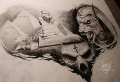 Just finish this commission work based on H.R.Giger's painting