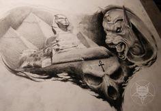 Egypt by AndreySkull.deviantart.com on @DeviantArt