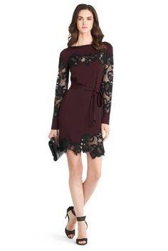 Ernestina Lace Detail Dress