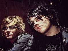 Mikey and Gerard Way | My Chemical Romance
