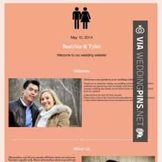 brilliant your own wedding website uk check out more great wedding website pics at
