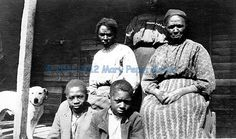 Unknown African American Family