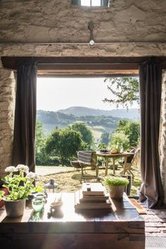 Fling open the barn doors to absorb the rolling countryside views