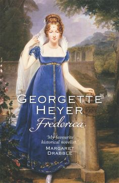 Historical romance leaps from Jane Austen to these. Frederica has a beautiful sister in need of a wealthy husband. But it appears that the older sister is likely to make a real catch! Click to reserve a copy from the Morgan Library. (love the dress!)