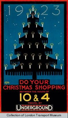 Do Your Christmas Shopping Between the Hours of 10 and 4 by Austin Cooper, 1923