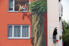 ¿Te imaginas que la fachada de tu casa fuese así?