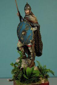Modelarstwo - Moja pasja: 75mm Slavic Warrior II Samurai, Christmas Ornaments, Holiday Decor, Home Decor, Art, Xmas Ornaments, Homemade Home Decor, Art Background, Decoration Home