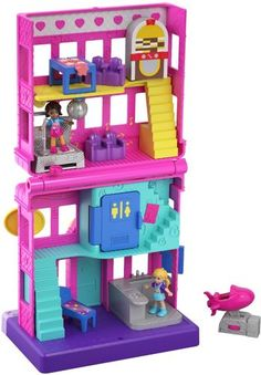 Polly Pocket - Pollyville Store - Styles May Vary Christmas Makes, Christmas Toys, Toys For Girls, Kids Toys, Polly Pocket World, Poly Pocket, Minnie Mouse Toys, Barbie Princess, Princess Toys
