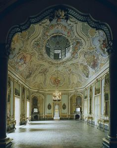 Beautiful Places...Palazzo Biscari, Catania Province, Sicily, Italy, photo by Michael Eastman.