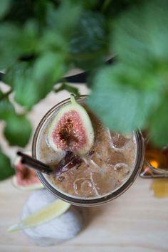 The Como Melbourne - Como Harvest #Como #Harvest #Fig #Cocktail #FigCocktail #CocktailJar