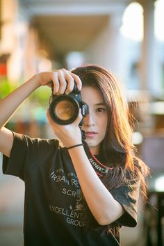 New free stock photo of woman camera girl   Download it on Pexels