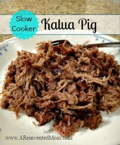 Slow Cooker Kalua Pig - A Reinvented Mom