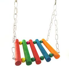 SALICO Colorful Wood Swings Cage Toys Hanging Toys for Flexible Pet Bird Hamster Parrot Budgie Swing Toys Parakeet Cockatiel Cage Hanging Hammock Toy >>> Find out more about the great product at the image link.Note:It is affiliate link to Amazon.