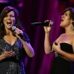 """Duet by Martina and Kelly .. Old Reba song """"Does He Love You"""". Great!"""