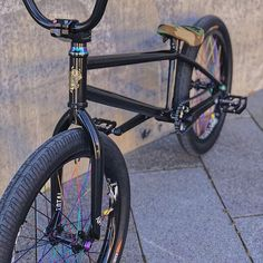 Our rainbow spokes, hub bolts and stem bolts looking awesome on 's ride! Bmx Bandits, Mt Bike, Bmx Parts, Bike Stuff, Skateboards, Bicycles, Mtb, Audi, Hobbies
