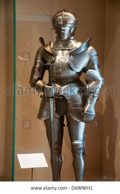 16th Century German Armour In The Metropolitan Museum Of Art, (met Stock Photo, Picture And Royalty Free Image. Pic. 55887917