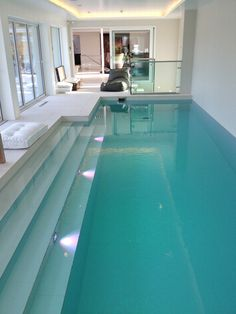 cool indoor pool!