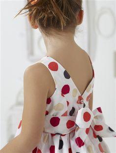 dress / bow at back