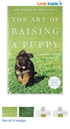 The Art of Raising a Puppy (Revised Edition) Hardcover – Single Issue Magazine, June 2011 Best Dog Training Books, Training Your Dog, Sand Crafts, The Monks, Arts And Crafts Supplies, Craft Stores, Best Dogs, Puppies, Issue Magazine