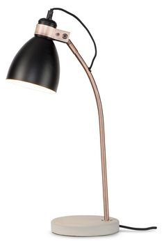 The Denver Table Lamp is a minimalist re-imagining of a classic desk light design, this is the perfect stylish addition to your home or office. Desk Light, Light Table, Light Up, Home Lighting, Modern Lighting, Lighting Design, It's About Romi, Denver, Black Table Lamps