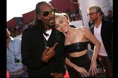 Snoop Dogg y Miley Cyrus.