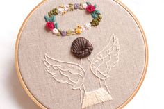 Crewel Embroidery Kits, Hand Embroidery Videos, Flower Embroidery Designs, Hand Embroidery Patterns, Embroidery Techniques, Embroidery Supplies, Embroidery Thread, Contemporary Embroidery, Creative Embroidery
