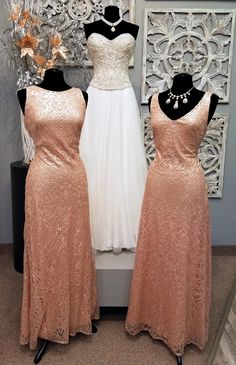 Monday, March 20, 2017 Your bridesmaids will love these new gowns from Watters that will let them shimmer and shine all night long. These exquisite gowns are made from Eclat Sequin and Talisa Sequin fabrics. With these new fabrics your bridesmaids will love to wear them again and again. Left: Watters, Zoe Tank will let your bridesmaids …