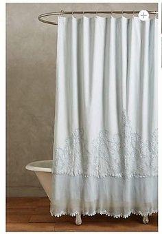 Anthropologie Sissonne Shower Curtain Ret. $248