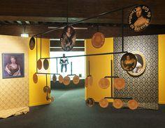 Mobile généalogie réalisé pour le Musée dauphinois, exposition Lesdiguières Pergola, Grenoble, Design, Radiation Exposure, Design Comics, Arbors