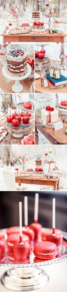 χειμωνιατικο παρτι-παρτι εμπνευσμενο απο τη Χιονατη -Genethlia
