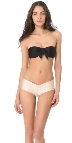 Bow Bandeau Bikini Top $81.00