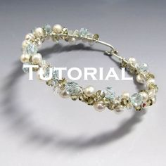 Learn to make this easy, yet elegant bangle for yourself or for others. This listing is for the tutorial only. If you'd like to purchase the tutorial kit (the instructions WITH the materials), please see my other listings. Tools you will need to complete the project include: