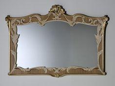 Specchio rettangolare a parete LANTE Collezione Palazzo by Rozzoni Mobili d'Arte