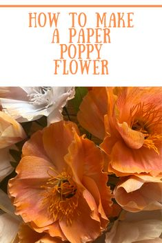 Recently I taught myself how to make crepe paper flowers. I bought a few books, watched a gazillion videos, bought some supplies, and started making paper flowers. Today I am sharing a video about how I made these flowers. Crepe Paper Flowers Tutorial, How To Make Paper Flowers, Paper Peonies, Paper Roses, Making A Bouquet, Flower Making, Giant Paper Flowers, Diy Flowers, Flower Diy